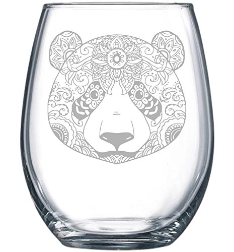 Panda 15 oz. stemless wine - Glass Panda