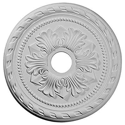 """Ekena Millwork CM20PMAMF Palmetto Ceiling Medallion fits Canopies up to 5"""", Americana"""