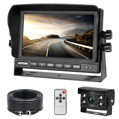 Backup Camera and Monitor Kit with 7