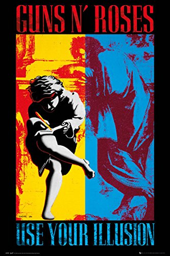 Amazon com: Guns N' Roses - Music Poster / Print (Use Your