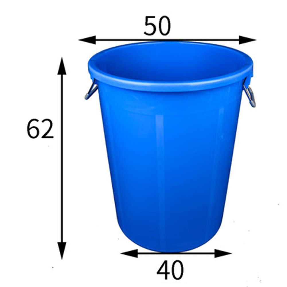 E Round Waste Container Only, Gallon Garbage Can Liners,Heavy Duty Trash Bags  Extra Large Commercial Plastic Bucket,N