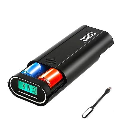 Amazon.com: Tomo M2 - Cargador de batería externo portátil ...