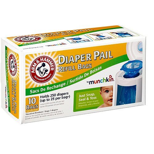 Munchkin Diaper Refill Holds Diapers