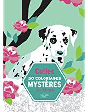 Cuties 50 coloriages mystères - coloriages animaux anti-stress [ coloring book for adults ]