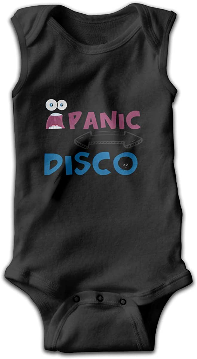 I Dont Always Panic But When I Do Its at The Disco Baby Sleeveless Bodysuit Baby Girls