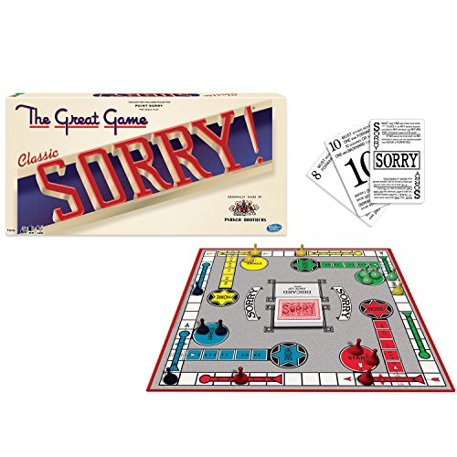 sorry board game parker brothers - 1