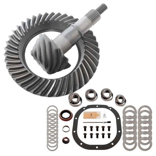 3.55 RING AND PINION & MASTER BEARING INSTALL KIT - COMPATIBLE WITH FORD 8.8 ()