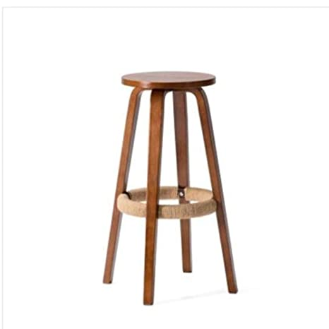 Superb Amazon Com Lc Kwn Bar Stools Seat Height 45Cm Breakfast Ibusinesslaw Wood Chair Design Ideas Ibusinesslaworg