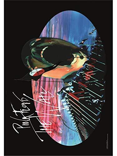 Heart Rock Bandiera Originale Pink Floyd Hammers, Tessuto,, 110x75x0.1 cm HFL0121