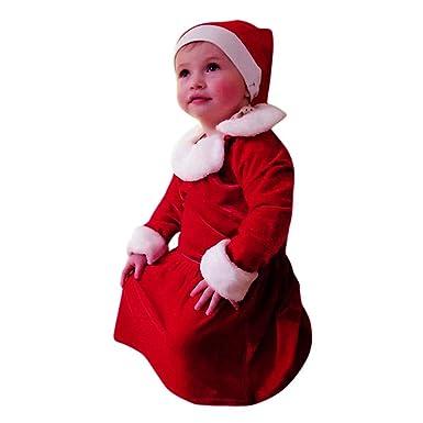 Amazon.com: Chritams vestido de bebé recién nacido bebé ...