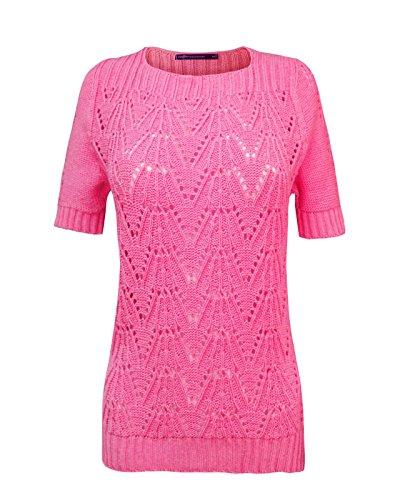 TOP VENDOR - Jerséi - suéter - Manga Corta - para mujer Hot Pink