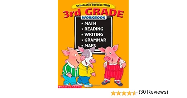 Scholastic Success With 3rd Grade Workbook: Terry (Editor) Cooper ...