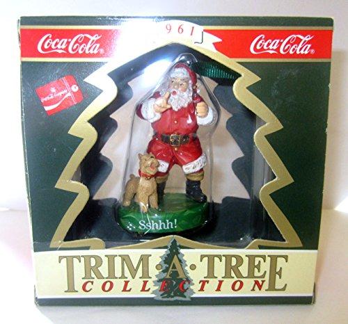 (Coca-Cola Sshhh! Santa Christmas Tree Ornament)