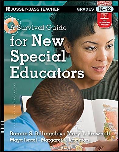The Special Educators Survival Guide (J-B Ed: Survival Guides)