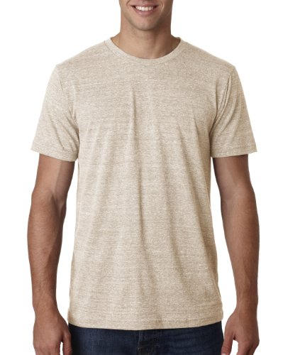 (Bella + Canvas Mens 3.4 oz. Triblend T-Shirt (3413C) -OATMEAL TR -2XL)