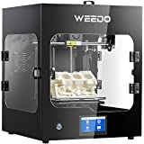 WEEDO Creality Industrial Pro 3D Printer, Support Wiibuilder/Cura Software, All Metal (PLA/ABS/PC/Nylon) Printing Materials, Fast Slicing, WiFi Operation or Touch Screen, Large Size(F152S)