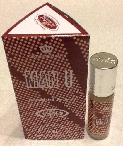 Man U - 6ml (.2 oz) Perfume Oil by Al-Rehab (Crown Perfumes) (1 x 6ml (1 Pack))
