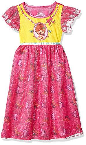 Fancy Kids Wear (Disney Character Sleepwear Girls Girls' Princess Fantasy Gown, 6 Fancy Nancy)