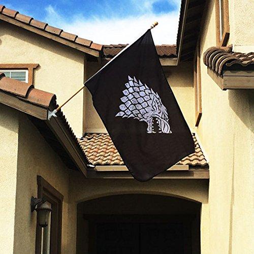 Game Thrones Stark Sigil Flag product image