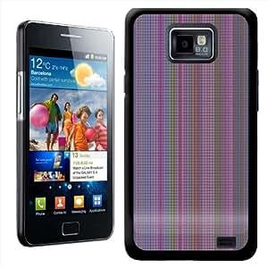 Fancy A Snuggle diseño de rombos diseño de líneas carcasa rígida para Samsung Galaxy S2 i9100