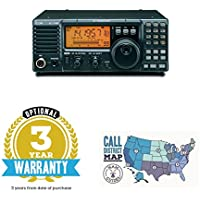 Bundle - 2 Items: Icom IC-718 & Ham Guides TM Quick Reference Card - 3 Year Warranty