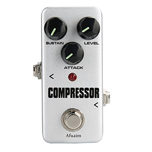 Afuaim Compressor Guitar Effect Pedal Compression Sustain Effects Pedal True Bypass