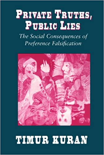 Private Truths, Public Lies: The Social Consequences of Preference Falsification