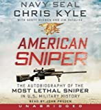 American Sniper CD( The Autobiography of the Most Lethal Sniper in U.S. Military History)[AMER SNIPER CD D][UNABRIDGED][Compact Disc]
