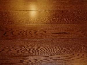 3 1/2 X 3/4 Inch Greenland Solid Hardwood Oak Gunstock Flooring (8 Inch  Sample)