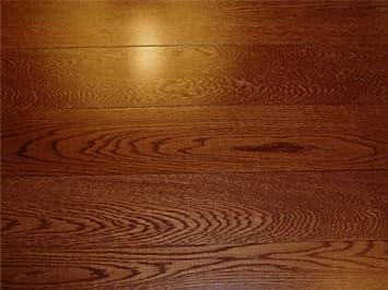 3 1/2 X 3/4 Inch Greenland Solid Hardwood Oak Gunstock Flooring