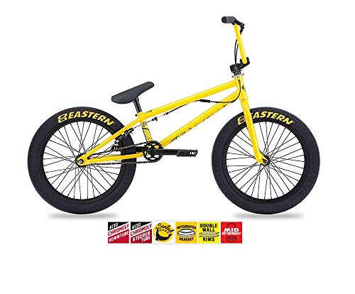 EASTERN ORBIT BMX BIKE 2017 BICYCLE YELLOW