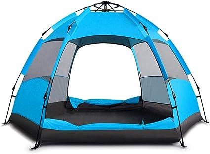 SHLYXY Camping Pop Up Carpa Beach Shelter Carpas 5 Personas ...