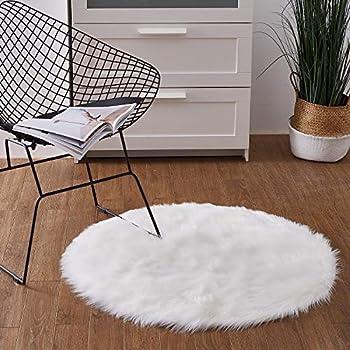 Amazon Com Faux Fur Small White Car Shag Carpet Thick