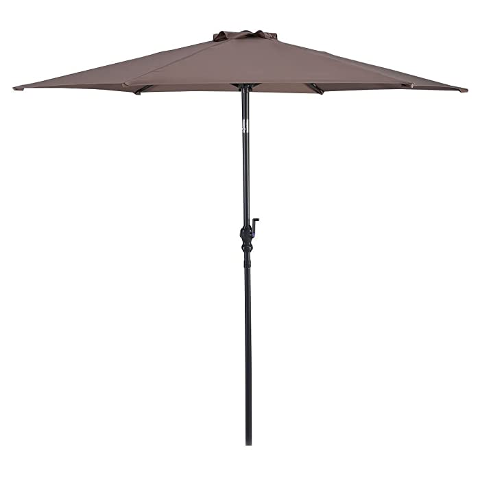 Best patio umbrella reviews 2017 top rated for the money for Best outdoor umbrellas reviews
