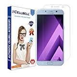 CELLBELL Samsung Galaxy A7(2017)(Front) Scratch Guard With FREE Installation Kit