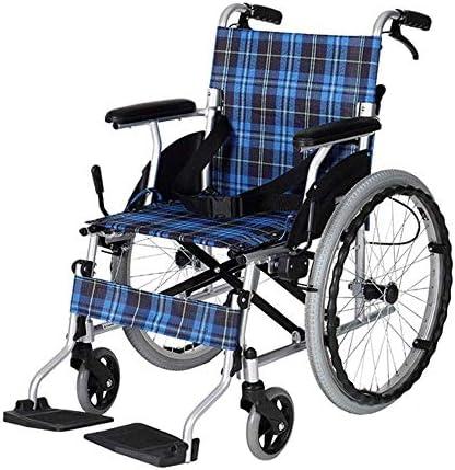 自走式車椅子 医療リハビリテーション椅子、車椅子、車椅子軽量14キロ折りたたみ自走式車椅子快適アームレスト背もたれシート100キロロードベアリング42 * 40CMシートメディカルチェア 介護・介助兼用 歩行補助用品