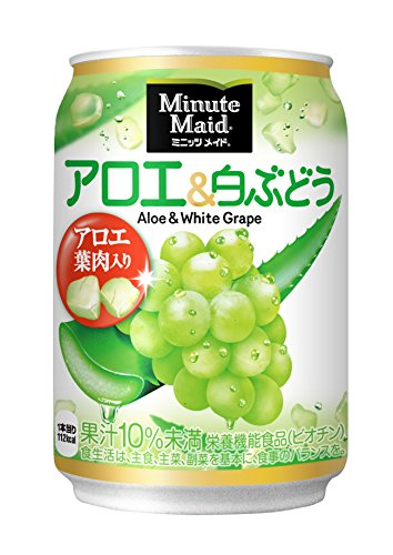 Minute Maid Aloe & amp; white grape 280g ~ 24 this by Minute Maid