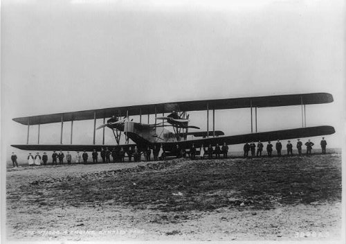 Infinite Photographs Photo: Handley Page,V/1500 Four engined Berlin Bomber,Rolls Royce,Eagle Mark VIII,1918