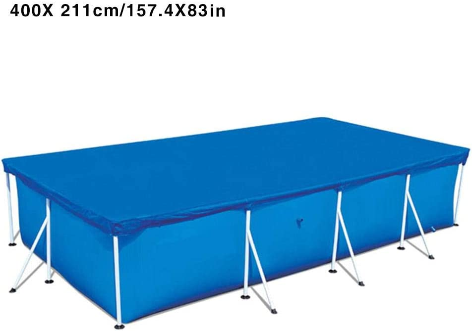 Singa-Z Swimming Pool Cover,Frame Pool Cover Rainproof Cloth Dust Cover Rectangular