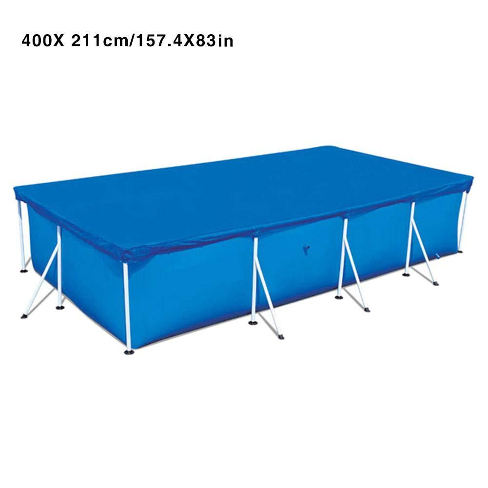Cobertor para Piscina Piscinas rectangulares Desmontables - Paño ...