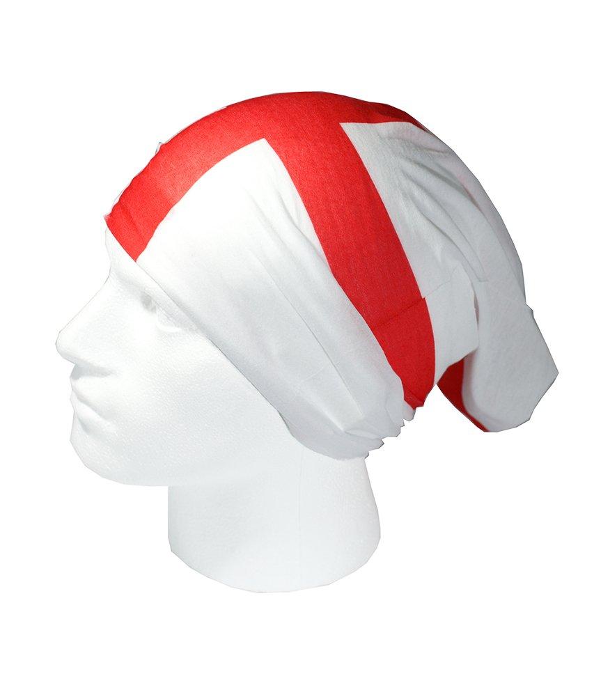 RUFFNEK BANDERA INGLATERRA//CRUZ DE SAN JORGE Talla /única Calientacuellos pa/ñuelo para la cabeza multifunci/ón