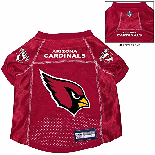 Arizona Cardinals Pet Dog Football Jersey Alternate XL red