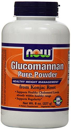 NOW Foods Glucomannan 100% чистый порошок - 8 унций.