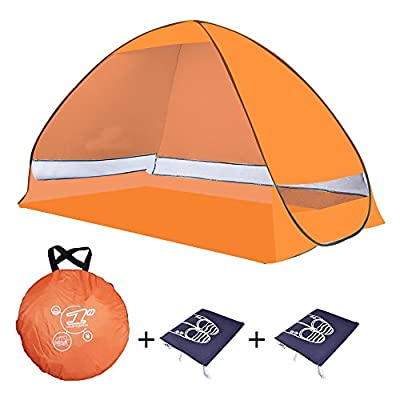 Beach Tent Yazer Pop up Automatic Portable Lightweight nti UV Automatic Beach Camping Tent for Fishing,Picnic,Hiking,Travel and More Outdoor Activities