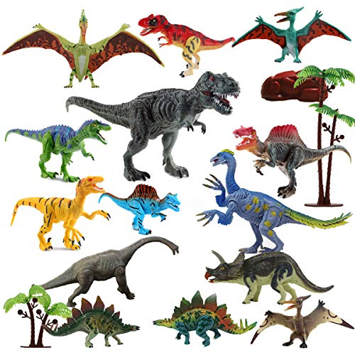 Dinosaur Toys RealisticFUNNISM 17-pack