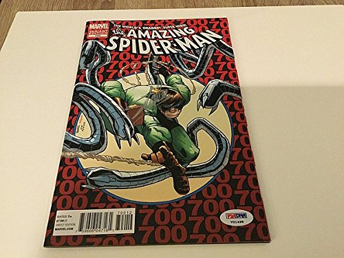Stan Lee Signed The Amazing Spider-Man Comic Book Variant...