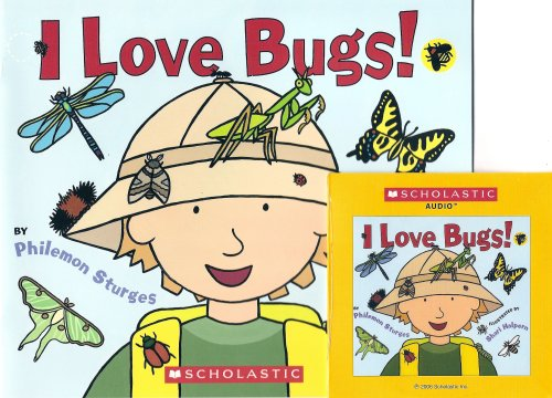 I Love Bugs! Book and Audio CD Set (Paperback) PDF
