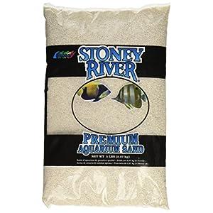 Stoney River White Aquatic Sand Freshwater and Marine Aquariums, 5-Pound Bag 110