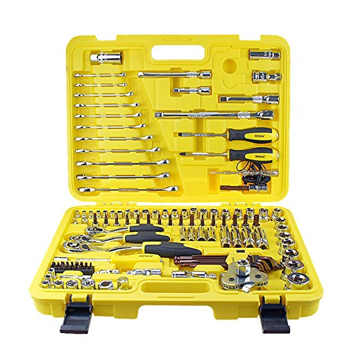 Automotive Servic 122pcs Dr.socket Wrench Set Professional Maintenance Tool Sets Tool by OUKU (Image #5)