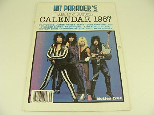 Hit Parader's Heavy Metal Calendar 1987
